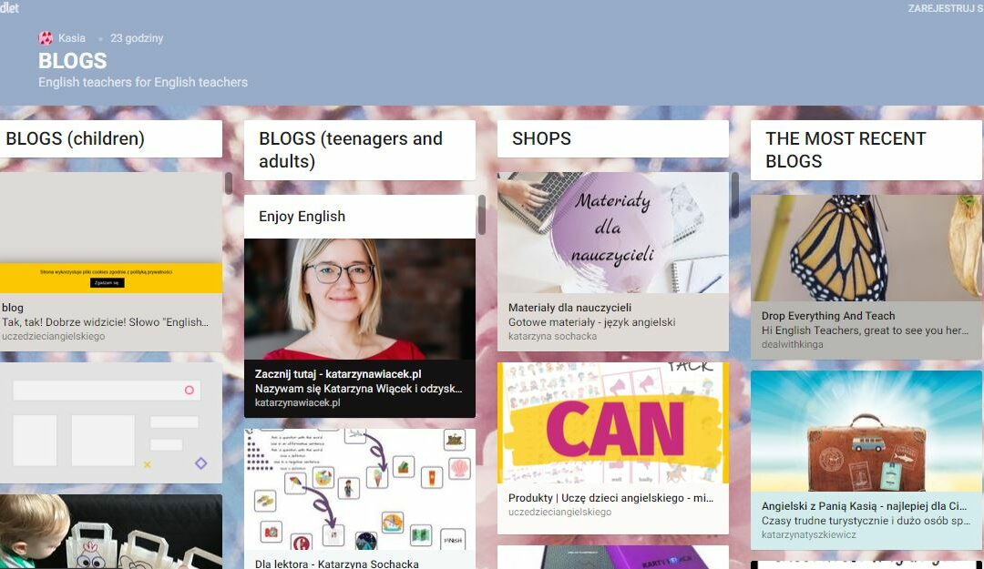 Blogi dla nauczycieli i nauczycielek angielskiego