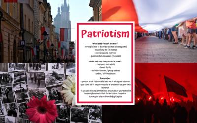 Patriotyzm – gotowa lekcja do pobrania