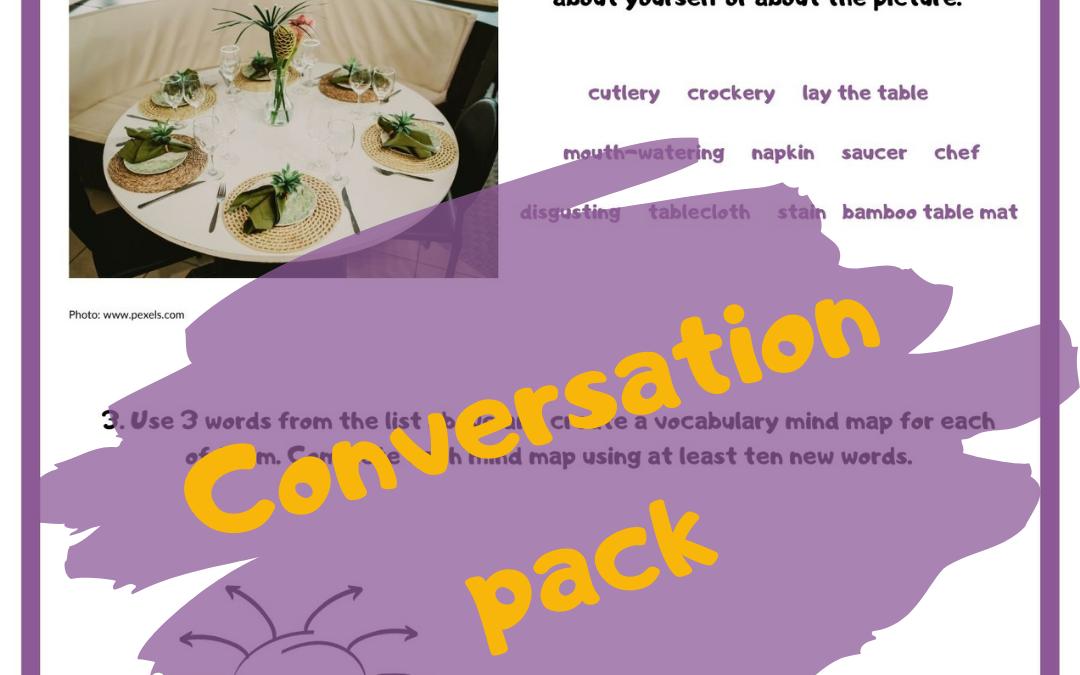 Conversation pack – 15 gotowych zajęć na mówienie