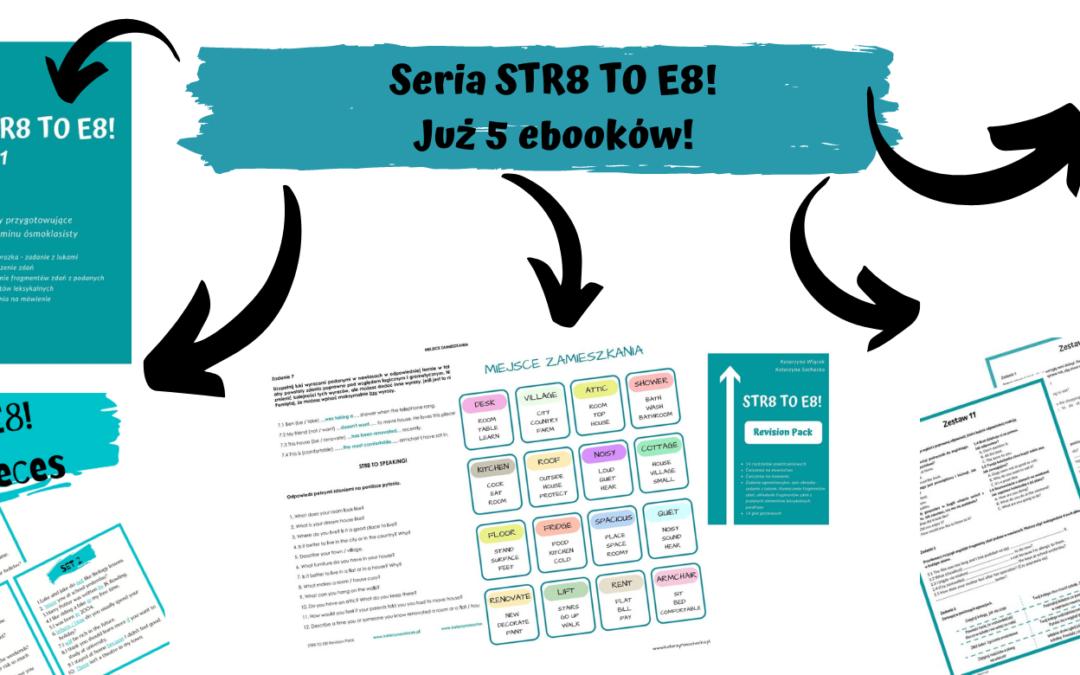 STR8 to E8! przygotowanie do egzaminu 8-klasisty