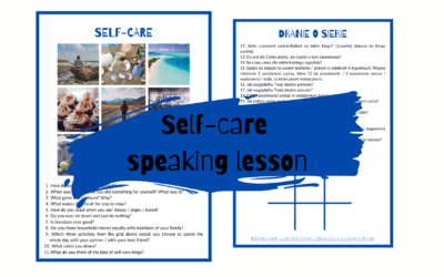 Self-care – lekcja na mówienie