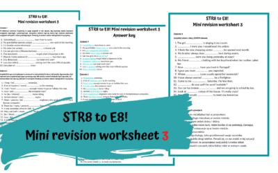 STR8 to E8! Zestawy powtórzeniowe